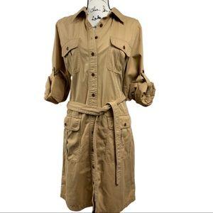 Lauren by Ralph Lauren Safari Cargo Dress